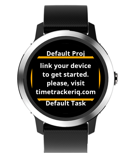 Time Tracker Iq Watch Operating Instructions