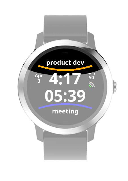 Time Tracker IQ - Watch Operating Instructions